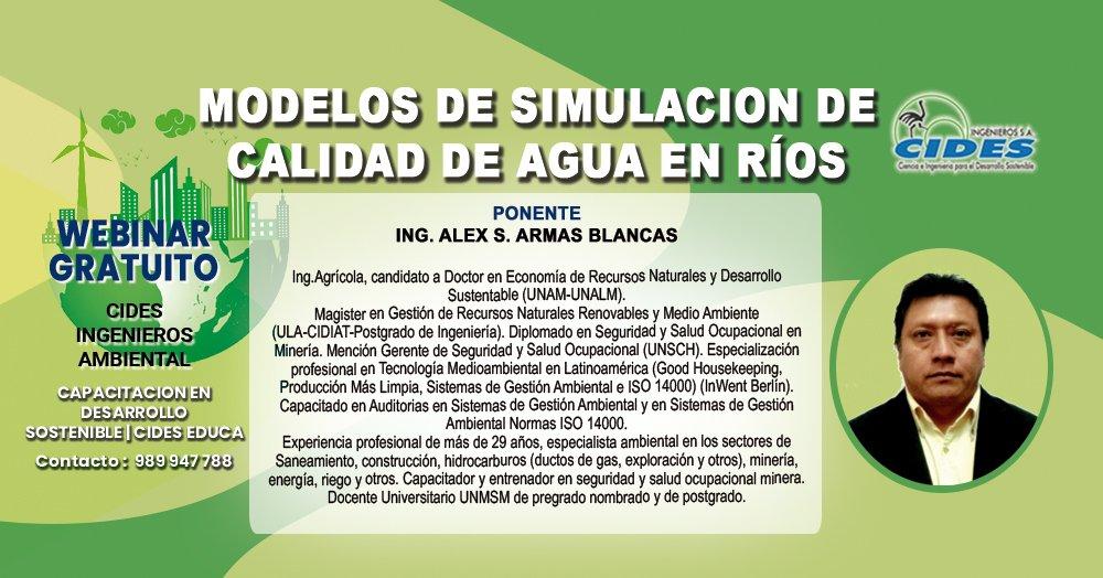 MODELOS DE SIMULACIÓN DE CALIDAD DEL AGUA EN RÍOS (S9-1)
